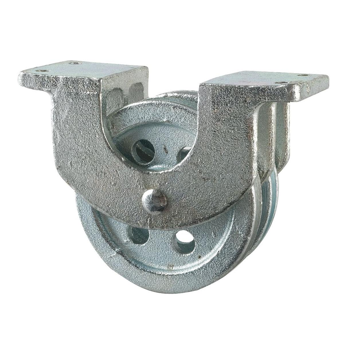 Surface-Mount Pulley Block: Wire Rope - Gamut