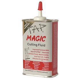 Tap Magic Extreme Pressure Cutting Oil: 4 oz Container Size, Yellow, Soluble Oil, 4 oz, Squeeze Bottle, All Metal