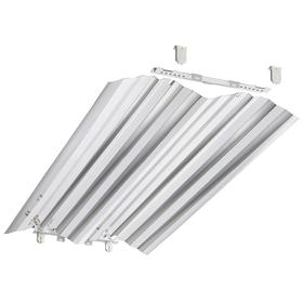 Acuity Lithonia Troffer Fixture Retrofit Kit: 45 1/2 in Overall Lg, 19 3/4 in Overall Wd, For 32 W Max Bulb Watt, 2950 lm, 5 PK