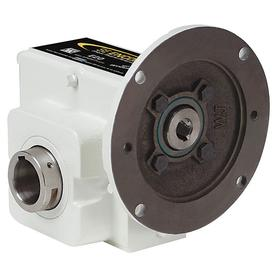 Winsmith Right-Angle C-Face Speed Reducers: Double, Left & Right, 40:1 Nominal Ratio, 43 RPM Nominal Output Speed, 56C, White