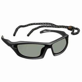 5.11 Safety Glasses: Gray, Full Frame, Scratch Resistant, Black, ANSI Z87.1-2003 EN 166, Nylon, Unisex
