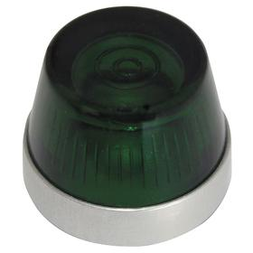 Eaton Pilot Light Lens: 2.19 in Overall Lg, Designed for Most Rugged Industrial Applications, Green, 18 Haz Material Indicator