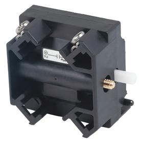 Schneider Electric Push Button Contact Block: 1NC Pole-Throw Configuration, Momentary, Operator, Screw/Clamp