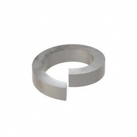 Split Lock Washer: Steel, Plain, For 3/4 in Screw Size, 0.766 in Max ID, 1.105 in Max OD, 0.218 in Thickness, 50 PK
