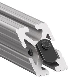 45° Supports for Structural Framing: For 4 Channel, Solid, 6 in Overall Lg, 1 1/2 in Overall Ht, 0.32 in Slot Wd