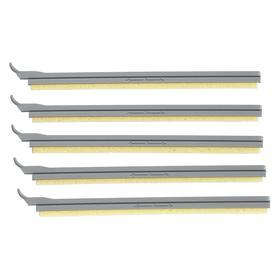 Brady Label Printer Media Wipers: Media Wiper, For Brady BBP31/Brady BBP35, Yellow, 5 PK