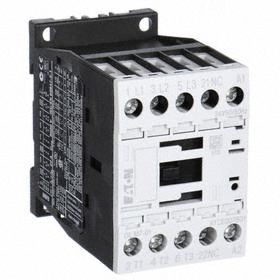 Siemens IEC Contactor: 4 Poles, Single/Three Phase, 4NO/1NC/1NO Auxiliary Contact Pole-Throw Configuration, 1 hp - Single Phase @ 120V