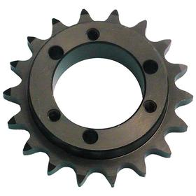Chain Sprocket: 50 Chain, Hardened, Steel, 5/8 in Pitch, 12 Teeth, For JA, 5/8 in Lg Through Bore, 2.710 in OD