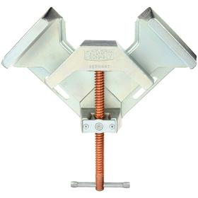 Corner Clamp: Adj Angle Type, 90° Max Clamping Angle, 4 3/4 in Max Opening Capacity, 9 1/2 in Throat Dp