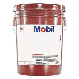 Mobil Industrial Gear Oil: Mineral Oil, 126.7 cSt Viscosity @ 100° C, 5 gal Container Size, Bucket, Black