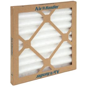 Pleated Air Filter: 7 MERV, Framed, 12 x 12 x 1 Nominal Filter Size, Synthetic/Polyester, 5 mil Filter Thickness, 12 PK