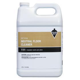 Floor Cleaning Solution: For All Hard Flooring, 1 gal Size, Jug