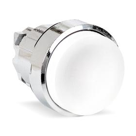 Schneider Electric Push Button Operator: Extended Operator, Non-Illuminated, Momentary, No Legend, Round, Chrome Plated Metal Bezel