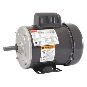 Totally Enclosed Fan Cooled AC Motor: Single Phase, 3/4 hp Output Power, 1725 RPM Nameplate RPM, 56 NEMA Frame Size, 115V AC/208 to 230V AC