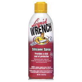 Liquid Wrench Multipurpose Penetrant & Lubricant: 11 oz Container Size, Silicone, 11 oz, Aerosol Can, 50° F Min Op Temp