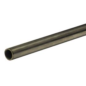 Stainless Steel Tubing: 316 Material Grade, Seamless, 3/8 in OD, 0.035 in Wall Thickness, 0.305 in ID, 6 ft Overall Lg