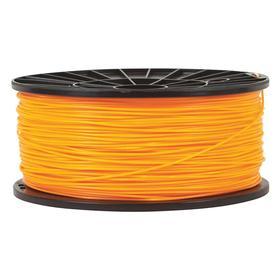 3D Printing Filament: PLA, Orange, 1.75 mm Filament Dia, 195 mm Spool OD, 95 mm Spool ID, 80 mm Spool Wd, 1 kg Wt