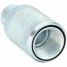 Haz-Location Extension Union: 1/2 Trade Size, Conduit to Enclosure, 3 7/8 in Overall Lg, Steel, Male to Female