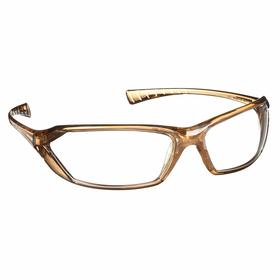 Gateway Safety Safety Glasses: Clear, Full Frame, Scratch Resistant, Brown, ANSI Z87.1+/MIL PRF-31013, Polycarbonate