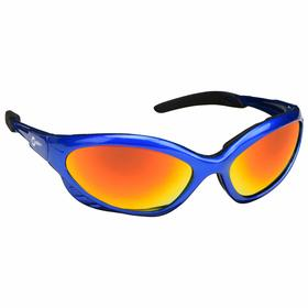 Honeywell Welding Safety Glasses: Shade 3.0, Wraparound Frame, Reflective/Scratch Resistant, Blue, ANSI Z87.1+, Unisex