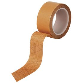 Roberts Double-Sided Tape for Transferring Adhesive Coverings: Double-Sided Vinyl-Flooring Tape, 50 ft Overall Lg, Vinyl