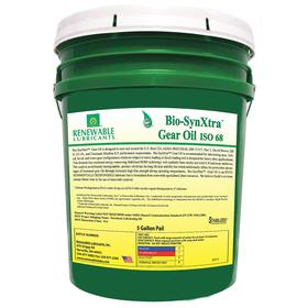 RLI Gear Oil: 68 ISO Grade, 80W-85 SAE Grade, 12.2 cSt Viscosity @ 100° C, 5 gal Container Size, Bucket, Yellow