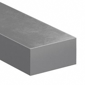 A2 Tool Steel Strip: 1/8 in Thickness, 36 in Lg, ASTM A-681-07, Precision Ground, +/-0.001 in Thickness Tolerance