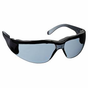Gateway Safety Safety Glasses: Gray, Frameless Frame, Anti-Fog, ANSI Z87.1+/CSA Z94.3/MIL PRF-31013, Polycarbonate