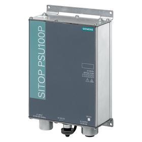 Siemens DC Power Supply: Metal, 120 to 230V AC Input Volt, 8 A Output Current, 24V DC Output Volt, 192 W Power Rating