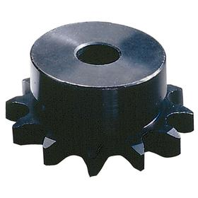 Chain Sprocket: 80 Chain, Steel, 1 in Pitch, 11 Teeth, 1 in Bore Dia, 1 5/8 in Lg Through Bore, 3.550 in Pitch Dia