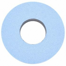 Norton High Performance Grinding Wheel: Ceramic Alumina, Medium Relative Grit Grade, 12 in Wheel Dia, 60 Grit, Blue