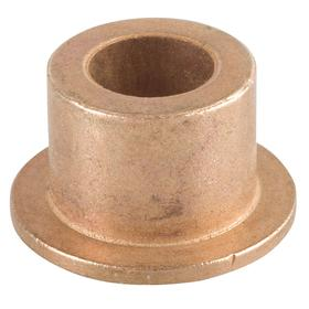 Flanged Sleeve Bearing: Inch, SAE 841 Material Grade, Bronze, For 5/8 in Shaft Dia, 3/4 in Overall Lg, 3/4 in OD, 3 PK