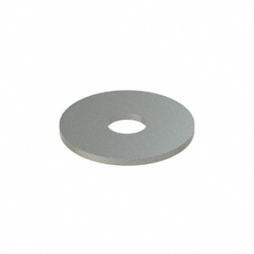 Oversized Flat Washer: 18-8 Stainless Steel, For 9/16 in Screw Size, 0.594 in ID, 2 in OD, 0.112 in Thickness, 5 PK