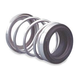 Pump Shaft Seal: 21 Seal Type Designation, 5/16 in Seat Thickness, 1 in Seat Bore Dia, Carbon, 59/64 in Seal OD