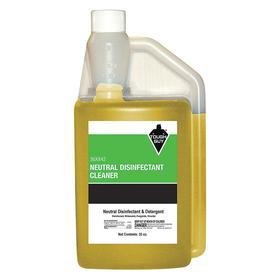 General Use Disinfectant: Concentrated, 32 fl oz Size, Portion Control Bottle, Lemon