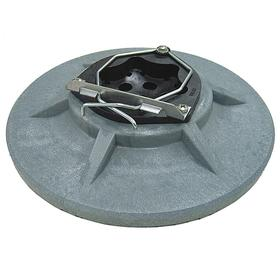 Tennant Pad Driver: Pad Holder, For 20 in Machine Size, Gray, 19 in Block Dia, 1 in Block Ht, 50 Haz Material Indicator
