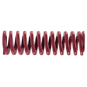 Die Spring: For 5/8 in Hole Size, Medium Heavy Duty, Red, 1 1/2 in Overall Lg, For 11/32 in Rod Size, 10 PK