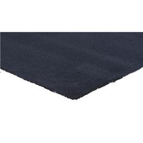 Entrance Mat: Skid Resistant, Rectangle, 4 ft Wd, 60 ft Lg, 5/16 in Thickness, Navy, Tufted, Polypropylene, Indoor Mats