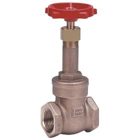 Gate Valve: Bronze, Rising, Threaded Bonnet, Class 150 Class, 3 Inlet Pipe Size, 536 Coefficient of Volume