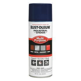 Rust-Oleum Spray Paint: Regal Blue, Gloss, 1 hr Dry Time, 12 to 15 sq ft, 12 fl oz Container Size