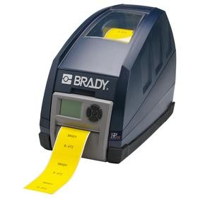 Brady IP 600 Desktop Label Printer: Printer Only, Continuous Labels/Die-Cut Labels, 4 4/25 in Max Label Wd, Single Color