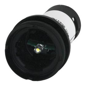 Eaton Raised Indicator Light without Lens: For 22 mm Heavy-Duty Watertight/Oiltight Pushbuttons, 24V AC/DC, Polycarbonate