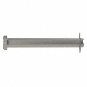Grooved Clevis Pin: 18-8 Stainless Steel, 5/16 in Shank Dia, 2 23/64 in Usable Lg, 2 1/2 in Overall Lg