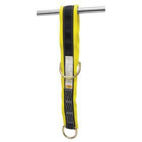 Sling Anchor: 425 lb Max Load Capacity, 3 ft Lg, Passthrough Sling, Polyester, 5000 lb Tensile Strength, Black/Yellow
