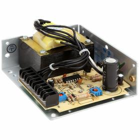 Open Frame DC Power Supply: Metal, 100/120/220/230/240V AC Input Volt, 1.2 A Output Current, 24V DC Output Volt