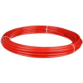 Nylon Tubing: For Air/Water, Red, 250 ft Overall Lg, 3/16 in ID, 1/4 in OD, 0.031 in Wall Thickness
