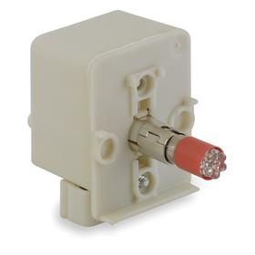 Schneider Electric Lamp Module with Bulb: Red, For 120 V AC/120 V DC, Transformer, Includes Bulb