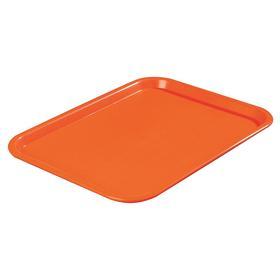 Carlisle Food Service Tray: Rectangular, 3/4 in Ht, Reusable, 24 Total Qty, Dishwasher Safe, 18 Haz Material Indicator, 13 7/8 in Lg, 24 PK