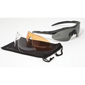 5.11 Safety Glasses: Assorted, Half Frame, Scratch Resistant, Gray, ANSI Z87.1 2010 EN166 (+F), Nylon, Unisex