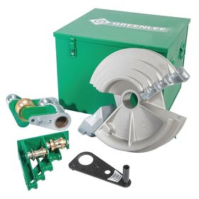 Greenlee Bender Shoe for Electric Benders: For 1/2 to 2 in Pipe Dia, EMT Shoe, 0.5 in Min Bend Radius